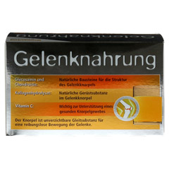 Gelenknahrung Orthoexpert Pulver 30x8 Gramm - Rückseite