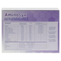 AMINOSYX Nervenbalance Syxyl Tabletten 120 Stück - Rückseite