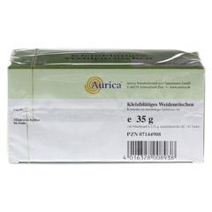 Kleinblütiges Weidenröschen Tee Filterbeutel 20x1.75 Gramm - Unterseite