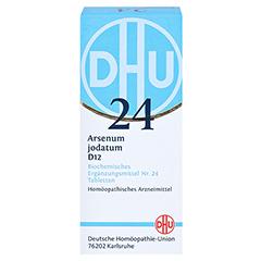 BIOCHEMIE DHU 24 Arsenum jodatum D 12 Tabletten 80 Stück N1 - Vorderseite