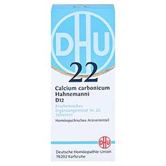 BIOCHEMIE DHU 22 Calcium carbonicum D 12 Tabletten 80 Stück N1 - Vorderseite