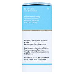 BIOCHEMIE DHU 24 Arsenum jodatum D 12 Tabletten 80 Stück N1 - Linke Seite