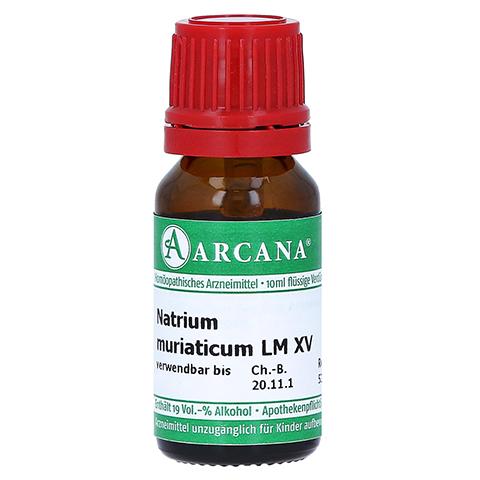 NATRIUM MURIATICUM LM 15 Dilution 10 Milliliter N1