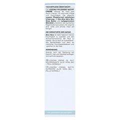 LOGONA CLASSIC pflegende Nachtcreme Bio-Aloe Vera 30 Milliliter - Rückseite