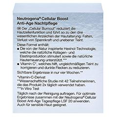 NEUTROGENA Cellular Boost Anti-Age Nachtpflege Cr. 50 Milliliter - Rückseite