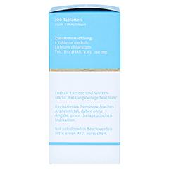 BIOCHEMIE DHU 16 Lithium chloratum D 12 Tabletten 200 Stück - Linke Seite