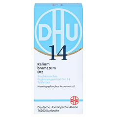 BIOCHEMIE DHU 14 Kalium bromatum D 12 Tabletten 200 Stück N2 - Vorderseite