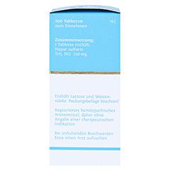 BIOCHEMIE DHU 18 Calcium sulfuratum D 12 Tabletten 200 Stück N2 - Linke Seite