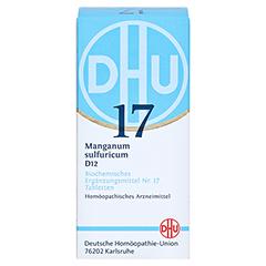 BIOCHEMIE DHU 17 Manganum sulfuricum D 12 Tabl. 200 Stück N2 - Vorderseite