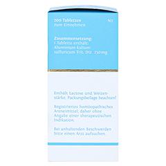 BIOCHEMIE DHU 20 Kalium alum.sulfur.D 12 Tabletten 200 Stück N2 - Linke Seite