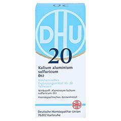 BIOCHEMIE DHU 20 Kalium alum.sulfur.D 12 Tabletten 200 Stück N2 - Vorderseite