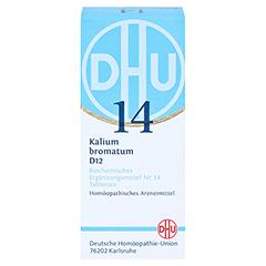 BIOCHEMIE DHU 14 Kalium bromatum D 12 Tabletten 80 Stück N1 - Vorderseite