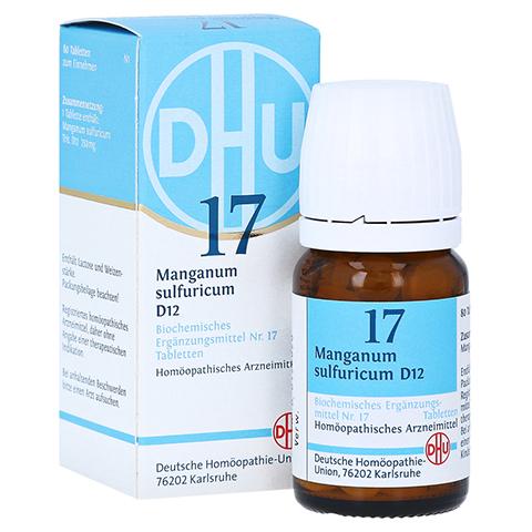 BIOCHEMIE DHU 17 Manganum sulfuricum D 12 Tabl. 80 Stück N1