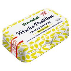 EM EUKAL Frische Pastillen Zitrone zuckerfrei 20 Gramm