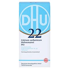 BIOCHEMIE DHU 22 Calcium carbonicum D 12 Tabletten 420 Stück N3 - Vorderseite