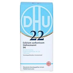BIOCHEMIE DHU 22 Calcium carbonicum D 6 Tabletten 420 Stück N3 - Vorderseite