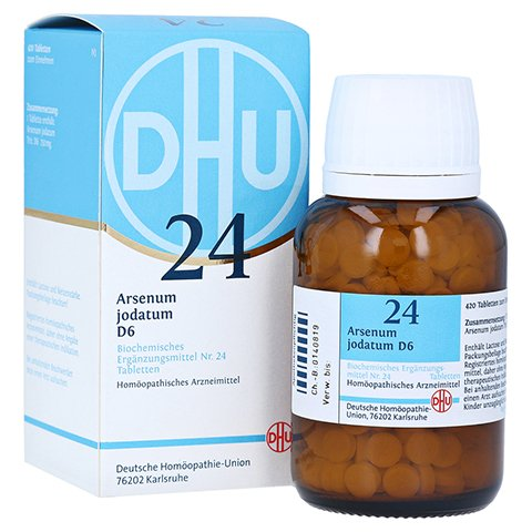 BIOCHEMIE DHU 24 Arsenum jodatum D 6 Tabletten 420 Stück N3