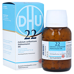 BIOCHEMIE DHU 22 Calcium carbonicum D 6 Tabletten 420 Stück N3