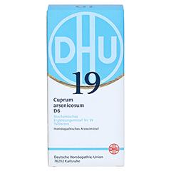 BIOCHEMIE DHU 19 Cuprum arsenicosum D 6 Tabletten 420 Stück N3 - Vorderseite