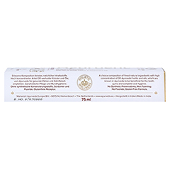 AYURDENT Zahncreme Classic 75 Milliliter - Linke Seite