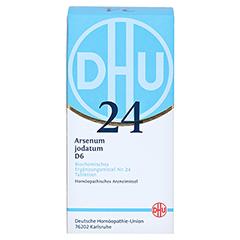 BIOCHEMIE DHU 24 Arsenum jodatum D 6 Tabletten 420 Stück N3 - Vorderseite