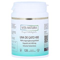 UNA DE GATO 400 mg Kapseln 120 Stück