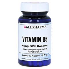 VITAMIN B5 6 mg GPH Kapseln 60 Stück