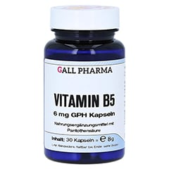 VITAMIN B5 6 mg GPH Kapseln 30 Stück