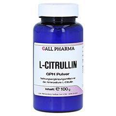 L-CITRULLIN GPH Pulver 100 Gramm