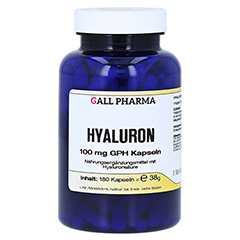 HYALURON 100 mg GPH Kapseln 180 Stück