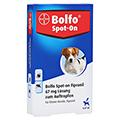 BOLFO Spot-On Fipronil 67 mg Lsg.f.kleine Hunde 3 Stück