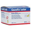 GAZOFIX color Fixierbinde kohäsiv 6 cmx20 m gelb 1 Stück