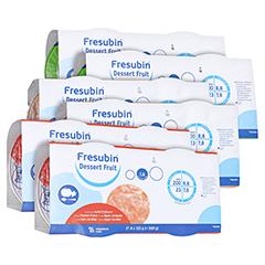 FRESUBIN dessert fruit Mischkarton im Becher 24x125 Gramm