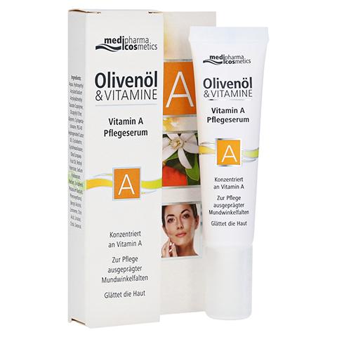 medipharma Olivenöl Vitamin A Pflegeserum 15 Milliliter