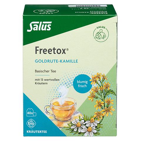 FREETOX Tee Goldrute-Kamille Bio Salus Filterbeut. 40 Stück