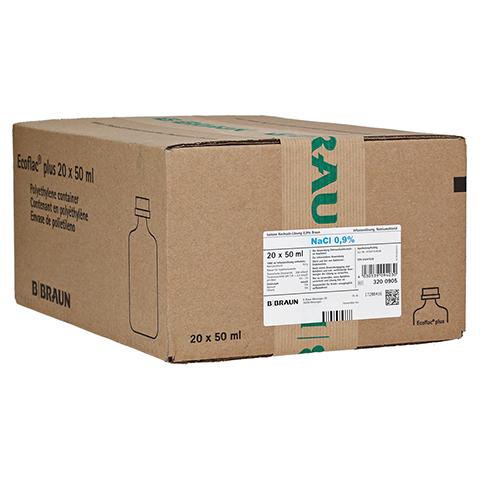 ISOTONE Kochsalz-Lösung 0,9% Braun Ecof.P.halbgef. 20x100 Milliliter N3