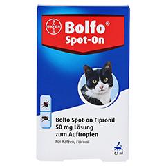 BOLFO Spot-On Fipronil 50 mg Lsg.f.Katzen 3 Stück - Vorderseite