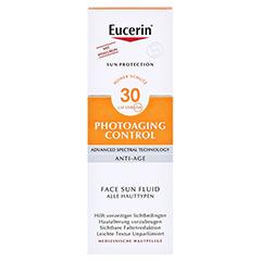 Eucerin Sun Photoaging Control Face Fluid LSF 30 + gratis Eucerin Sun Oil Control 5 ml 50 Milliliter - Vorderseite