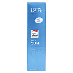 BÖRLIND After Sun kühlendes Gel 125 Milliliter - Vorderseite