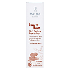 WELEDA Beauty Balm 5in1 getönte Tagespflege bronze 30 Milliliter - Vorderseite