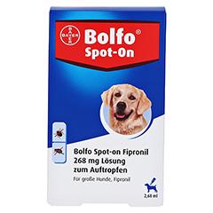 BOLFO Spot-On Fipronil 268 mg Lsg.f.große Hunde 3 Stück - Vorderseite