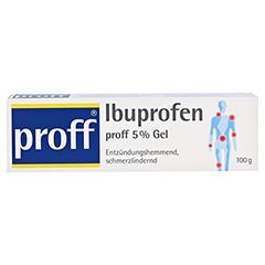 Ibuprofen proff 5% 100 Gramm - Vorderseite