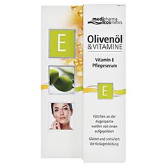 medipharma Olivenöl Vitamin E Pflegeserum 15 Milliliter - Vorderseite