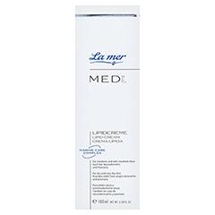 LA MER MED Lipidcreme ohne Parfüm 100 Milliliter - Vorderseite