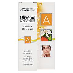 medipharma Olivenöl Vitamin A Pflegeserum 15 Milliliter - Vorderseite