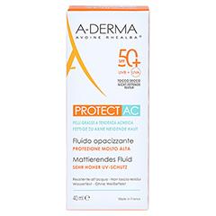 A-DERMA PROTECT AC mattierendes Fluid SPF 50+ 40 Milliliter - Vorderseite