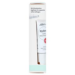medipharma Hyaluron Lippen-Volumenpflege marsala 7 Milliliter - Linke Seite