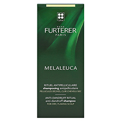 FURTERER Melaleuca Antischuppen Shampoo tr.Sch. 150 Milliliter - Rückseite