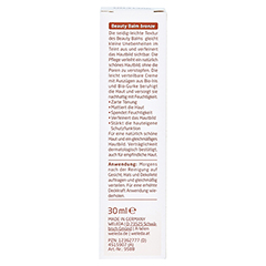 WELEDA Beauty Balm 5in1 getönte Tagespflege bronze 30 Milliliter - Rückseite