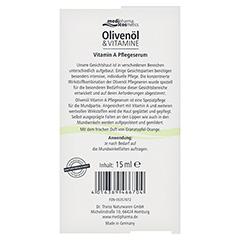 medipharma Olivenöl Vitamin A Pflegeserum 15 Milliliter - Rückseite
